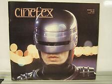 1987 CINEFEX #32 Sci-Fi SFX Magazine- ROBOCOP/INNERSPACE/MARTIN SHORT