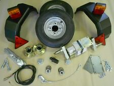 """500kg Trailer kit with 8"""" Wheels"""