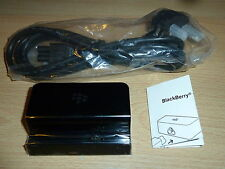 BLACKBERRY PLAYBOOK OFFICIAL RIM DESKTOP CHARGING POD - NEW! RAPID CHARGER DOCK
