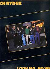 MITCH RYDER look ma. no wheels CANADA 1981 EX LP