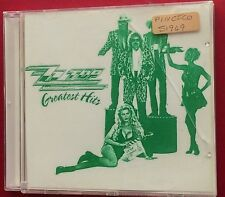 ZZ Top Greatest Hits ALL THEIR HITS NOT ORIGINAL FRONT REAR COVER @ ORIGINAL CD