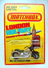 Matchbox SF Nr.50C Harley Davidson in USA Blisterpackung mit Fehldruck