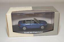A2 1:43 NOREV AUDI A4 CABRIOLET METALLIC BLUE MINT BOXED