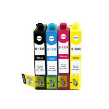4x Ink Cartridges for T1331-4 T133 for Epson NX125 NX130 NX420 NX430 T25 Printer