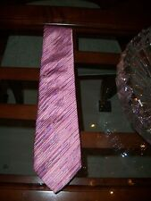 used THOMAS PINK pink industrial 100% silk neck tie $175 Morocco