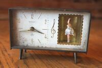 Peter Alarm Clock Vintage Dancing Ballerina Plays Menuet Von Boccherini Music
