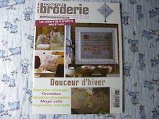 Magazine point de croix  ouvrages broderie N° 68  cross stitch