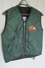 band 54-40 Smilin Buddha Cabaret - (XL) embroidered Padded Green Vest, M.A.D. Co