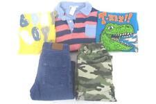 Lot of 5 Boy's Size 5 Pants Shirts Janie And Jack Green Dog Baby Gap Garanimals