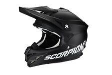 Helmet Offroad Scorpion Vx-15 EVO Air Solid Black S Glasses Neon Yellow 10