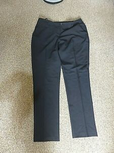 Pretty black straight leg trousers from Dorothy Perkins size 12