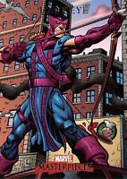 HAWKEYE / 2007 Marvel Masterpieces BASE Trading Card #35