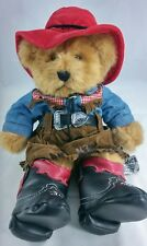 Russ Berrie Moondance Teddy Bear Plush Western Cowgirl No 1798 Collectible