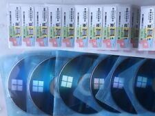 windows 10 pro Licence key Sticker Coa Dvd