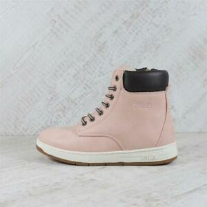 Infant Fila Bohemian Mid Pink Boot (PEF4) RRP £69.99