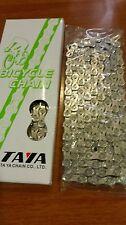 "Chain cycle 10 speeds Taya bike 1/2""X5/64""X116Links"