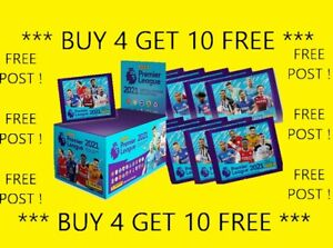 ⭐251-500 UPDATED⭐PANINI Football 2021 Premier League stickers BUY 4 GET 10 FREE