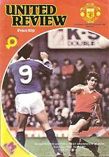 Manchester United v West Bromwich - Division 1 - 1980/81