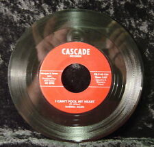 Darrell Allen: I Can't Fool My Heart-Taking Chances (45 RPM) Cascade Records