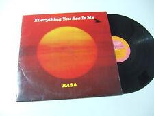 Rasa – Everything You See Is Me - Disco Vinile 33 Giri LP Album ITALIA 1978