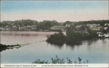 Meredith NH Across the Bay c1910 Postcard - Frank Swallow