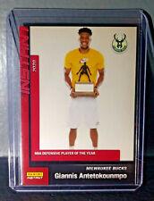Giannis Antetokounmpo 2019-20 Panini NBA Defensive Player of the Year Card 1/157
