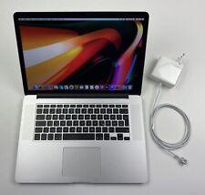 """Apple MacBook Pro Retina 15,4"""" i7 2,8 Ghz 1 TB SSD 16 GB Ram R9 M370X SILBER"""