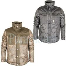 Crosshatch Polyester Collared Coats & Jackets for Men