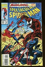 SPECTACULAR SPIDER-MAN #202 NM- 9.2 MAXIMUM CARNAGE PART 9 1993 MARVEL COMICS