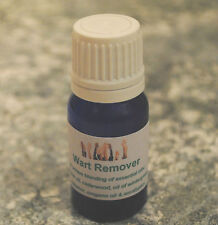 Wart remover treatment oil 10ml - 100% pure organic essential oil blend