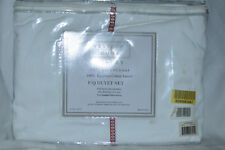 Westport Home Luxury 300Tc Full/Queen Duvet Set White/Red Nip