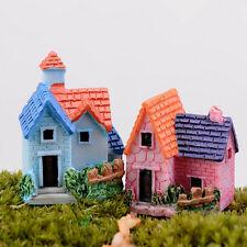 Casa delle bambole miniature DIY villa bosco Fata piantatore casa arredamento CH