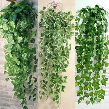 Artificial Trailing Ivy Leaf Garland Plants Foliage Hanging Home Office Outdoor