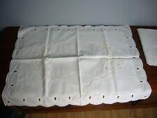2 Battenburg Lace Pillow Shams White Vintage Country Shabby Cottage Chic EUC
