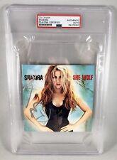 Shakira Signed CD Cover She Wolf PSA/DNA COA