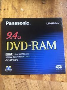 Panasonic DVD-RAM 9.4 GB Type 4 LM-HB94V