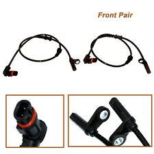 2pcs Front Pair ABS Wheel Speed Sensors for Mercedes W204 C250 C300 2045400117