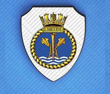 HMS LIMBOURNE WALL SHIELD
