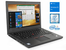 "Lenovo ThinkPad X270 12.5"" Laptop, i7-6600U, 4GB RAM, 180GB SSD, Windows 10 Pro"