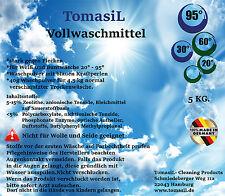 5 Kg Waschpulver Vollwaschmittel Deutscher Markenhersteller