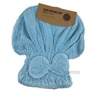 Dry Hair Towel Cap Absorbent Rapid Drying Turban Shower Bath Hat (1)