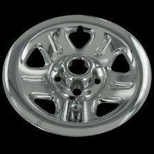 "Fits 2002-2006 Jeep Wrangler Set of 4 15/"" Chrome Wheel Skins IWCIMP46X"