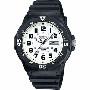 CASIO Genuine MRW-200H-7B Mens Diver Watch Classic Diving Sport FREE SHIPPING