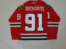 BRAD RICHARDS SIGNED 2015 STANLEY CUP CHICAGO BLACKHAWKS #91 HOME JERSEY JSA COA