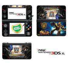 Transformers in Vinile Adesivo della pelle per nuovo Nintendo 3ds XL (con Stick C)