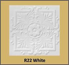 Glue Up White Decorative Ceiling Tiles R22W Antique White Satin Sale