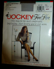 Jockey For Her Pantyhose Reinforced Control Top Size Small Grey Mist Hose