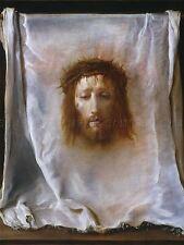 DOMENICO FETTI ITALIAN VEIL VERONICA OLD ART PAINTING POSTER PRINT BB5194A