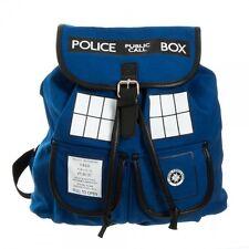 Officially Licensed Doctor Who TARDIS Voyager Knapsack Backpack