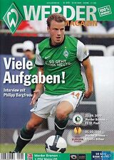 Werder Magazin + 23.09.2009 + Bremen vs. Mainz 05 + St. Pauli + Athletic Bilbao
